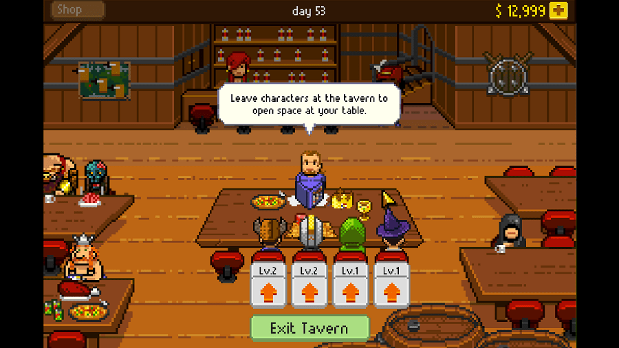 Knights of Pen and Paper Screenshot 3