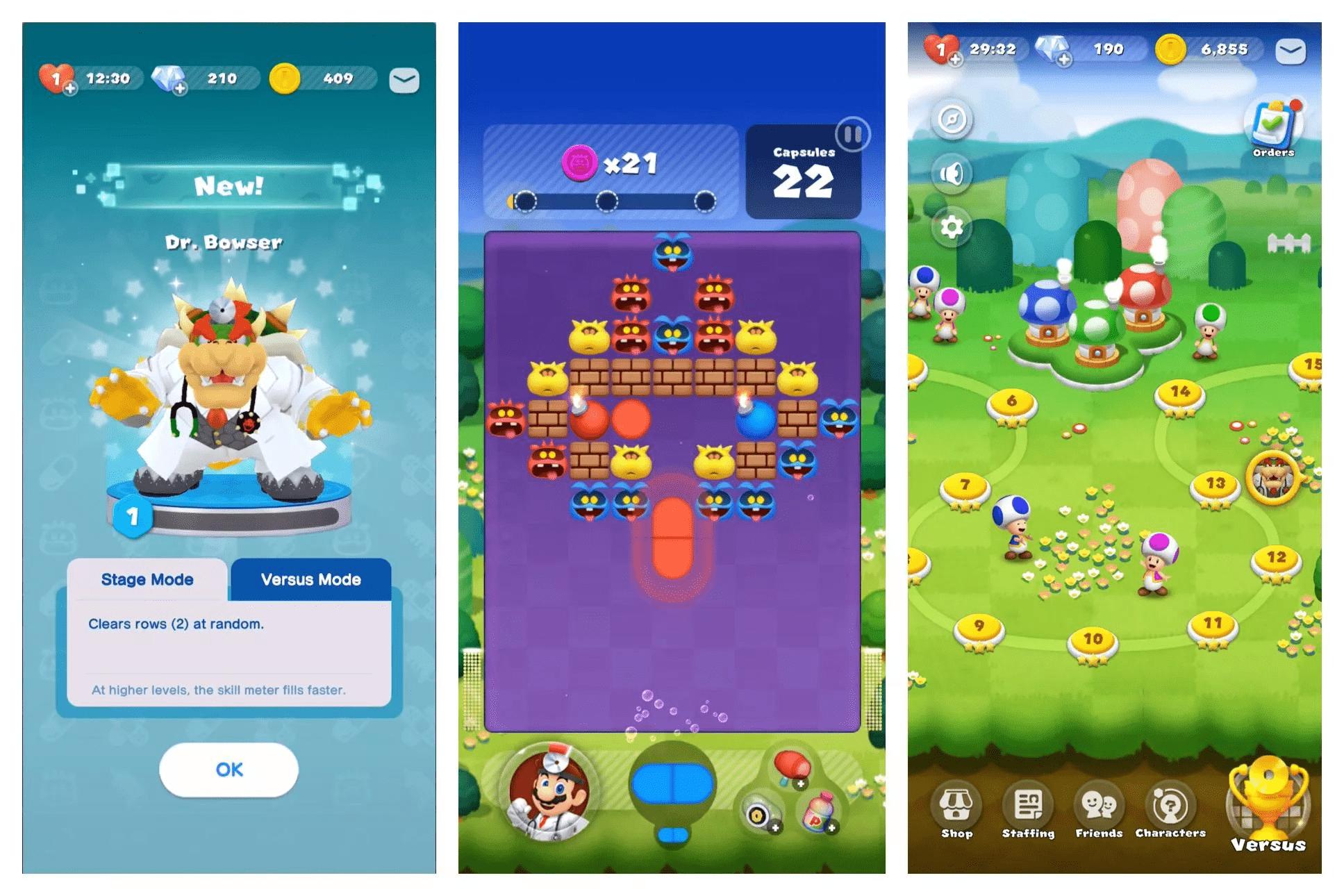 Dr. Mario World Screenshot 1