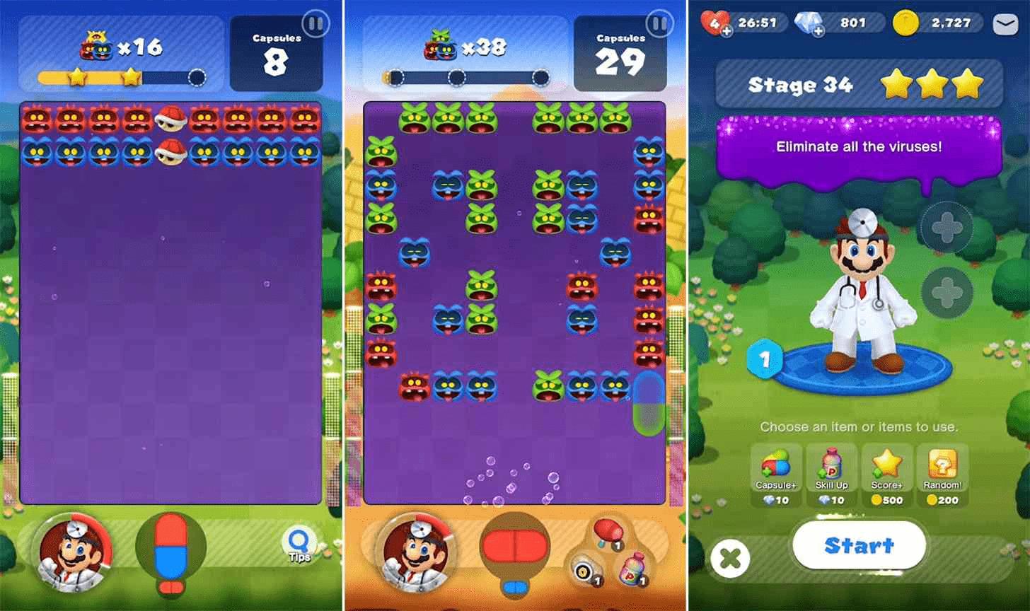 Dr. Mario World Screenshot 3