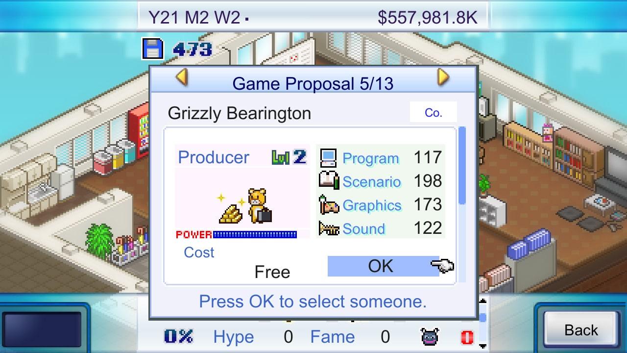 Game Dev Story Screenshot 3