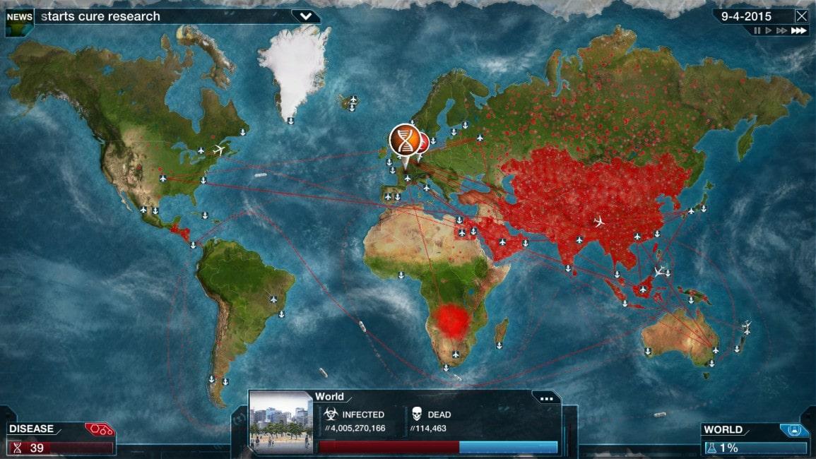Plague Inc Screenshot 2