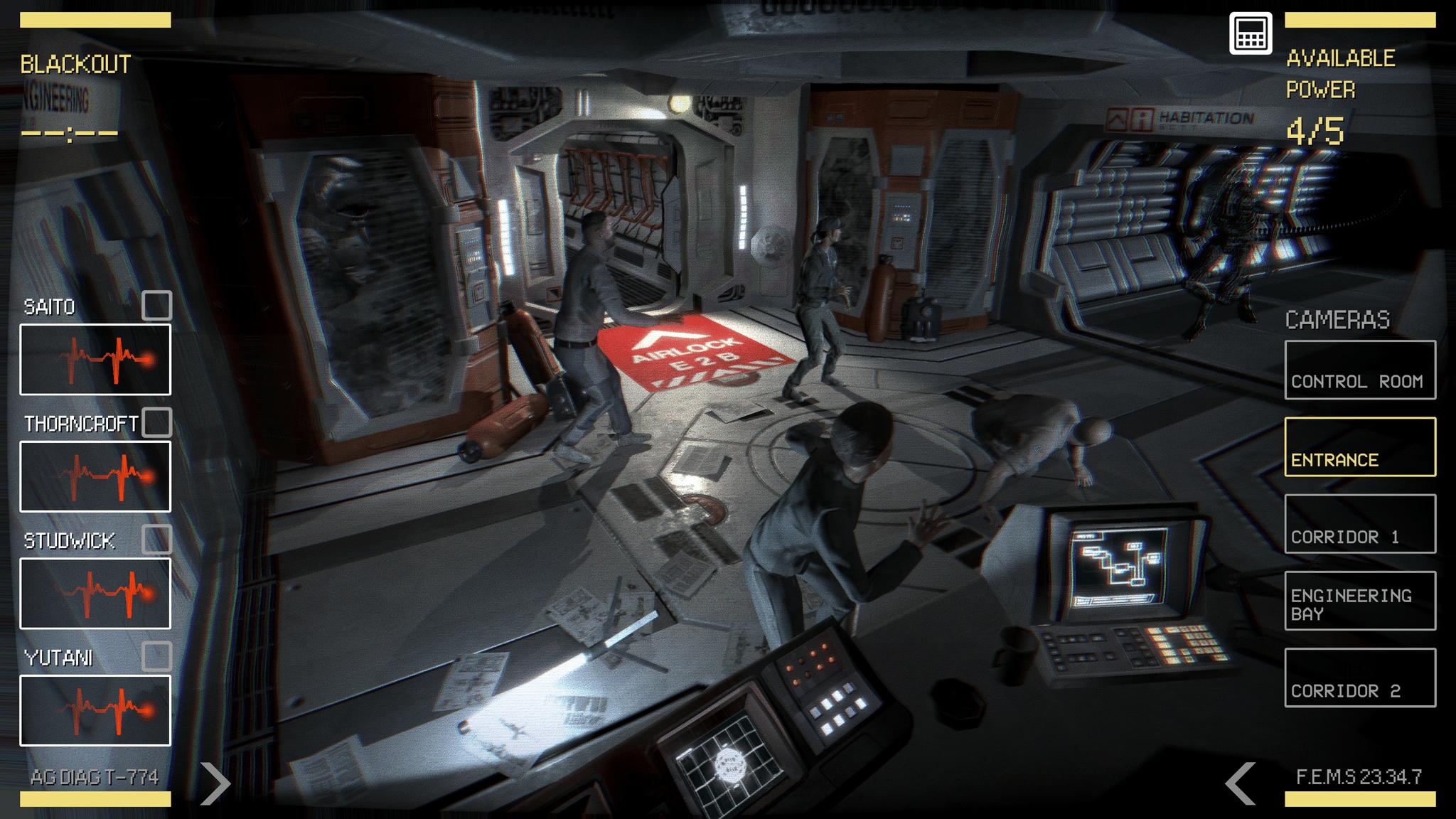 Alien Blackout Screenshot 2
