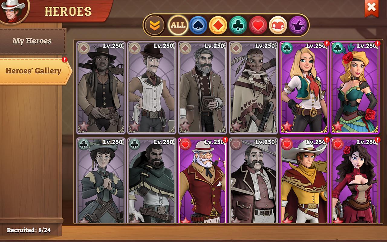 Wild West Heroes Screenshot 1