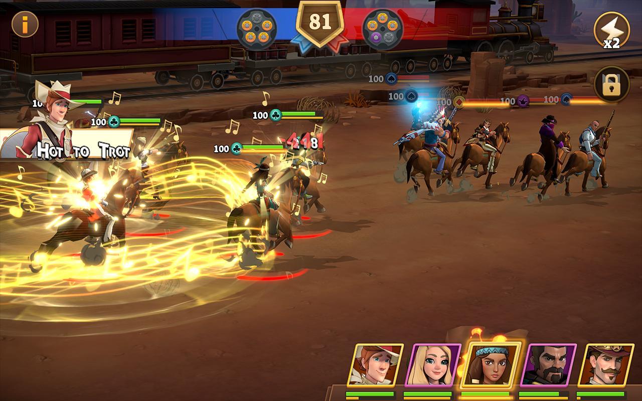 Wild West Heroes Screenshot 2